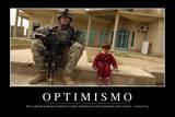 Optimismo Cita Inspiradora Y Póster Motivacional