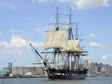 USS Constitution in the Boston Harbor