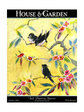 House & Garden Cover - October 1924