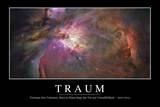 Traum: Motivationsposter Mit Inspirierendem Zitat