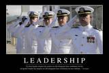 Leadership: Citation Et Affiche D'Inspiration Et Motivation