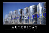 Autorität: Motivationsposter Mit Inspirierendem Zitat