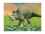 3D Rendering of a Styracosaurus Dinosaur