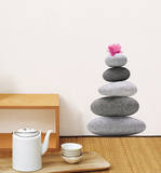 Zen Stone 2 Mini Wall Decals