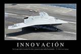 Innovación Cita Inspiradora Y Póster Motivacional