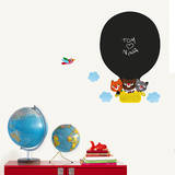 Hot Air Balloon Chalkboard Wall Decals