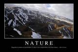 Nature: Citation Et Affiche D'Inspiration Et Motivation