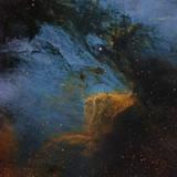 The Pelican Nebula  an H Ii Region in the Constellation Cygnus