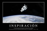 Inspiración Cita Inspiradora Y Póster Motivacional
