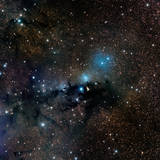 Vdb 123 Reflection Nebula in the Constellation Serpens