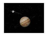 Voyager Spacecraft Near Jupiter and its Unrecognized Ring