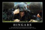Hingabe: Motivationsposter Mit Inspirierendem Zitat