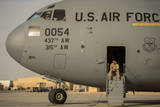 Loadmaster Waits to Preflight a C-17A Globemaster Iii