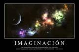 Imaginación Cita Inspiradora Y Póster Motivacional