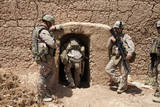 US Marines Search a Compound in Afghanistan