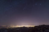 View from Mount Lemmon Overlooking the City of Tucson  Arizona