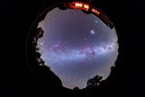 A Fish-Eye 360 Degree Image of the Entire Southern Sky