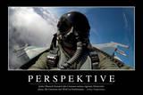 Perspektive: Motivationsposter Mit Inspirierendem Zitat