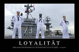 Loyalität: Motivationsposter Mit Inspirierendem Zitat