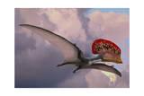 Caupedactylus Ybaka  an Extinct Pterosaur from the Cretaceous Period