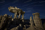 Incricate Sand Tufa Formations Along the Shores of Mono Lake  California