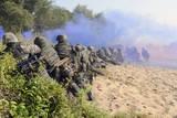 US Marines and the Royal Malaysian Army Conduct an Amphibious Raid Exercise