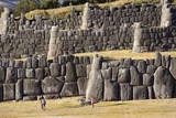 The Inca Ruins of Sacsayhuaman  UNESCO World Heritage Site  Peru  South America