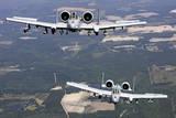 Two A-10C Thunderbolt Aircraft Near Moody Air Force Base  Georgia