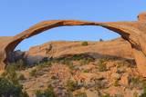 Landscape Arch  Devils Garden  Arches National Park  Utah  United States of America  North America