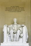 The Lincoln Memorial  Washington  DC  United States of America  North America