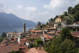 Village Overlooking Lake Garda  Italian Lakes  Lombardy  Italy  Europe