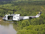 A US Air Force Uh-1H Huey in an Experiment Paint Scheme