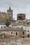 Caceres  UNESCO World Heritage Site  Extremadura  Spain  Europe