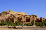 Kasbah  Ait-Benhaddou  UNESCO World Heritage Site  Morocco  North Africa  Africa