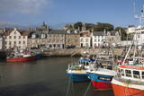 Fishing Boats in the Harbour at Pittenweem  East Coast  Fife  Scotland  United Kingdom  Europe