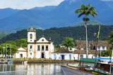 Santa Rita Church  Paraty  Rio De Janeiro State  Brazil  South America