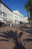 Espagne Street on the Seafront  Tangier  Morocco  North Africa  Africa