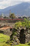 The Ruins of the Roman City of Pompeii  UNESCO World Heritage Site  Campania  Italy  Europe