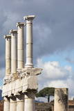 Pillars in Ancient Pompeii  UNESCO World Heritage Site  Campania  Italy  Europe