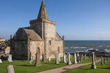 The 14th Century St Monan's Church  St Monan  East Coast  Fife  Scotland  United Kingdom  Europe