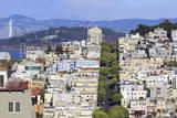 Lombard Street  San Francisco  California  United States of America  North America