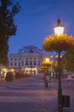 Slovak National Theatre at Dusk  Bratislava  Slovakia  Europe