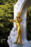 Statue of Johann Strauss  Stadtpark  Vienna  Austria  Central Europe