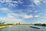 River Rhine  Cologne  North Rhine-Westphalia  Germany  Europe