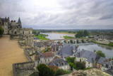 River Loire from the Chateau  Amboise  Indre Et Loire  Centre  France  Europe