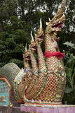 Mythical Beasts at Entrance to Wat Phra