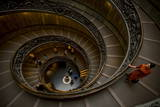Steps at the Vatican Museum  the Vatican City  Vatican  Rome  Lazio  Italy  Europe
