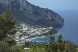 The Island of Capri  Campania  Italy  Mediterranean  Europe