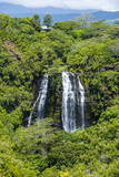 Opaekaa Falls  Kauai  Hawaii  United States of America  Pacific