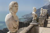 Statues on Belvedere of Infinity at the Villa Cimbrone